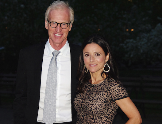 Julia Louis-Dreyfus and husband Brad Hall