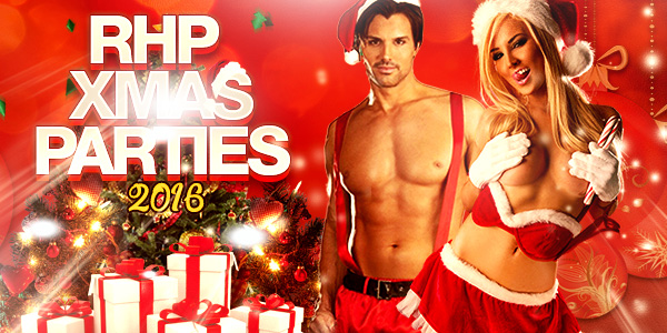 RHP Most Desirable Xmas Parties & Events Destinations 2016